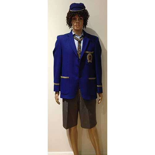School Boy Angus Young AC//DC School Boy Costume Fancy Dress Party Outfit
