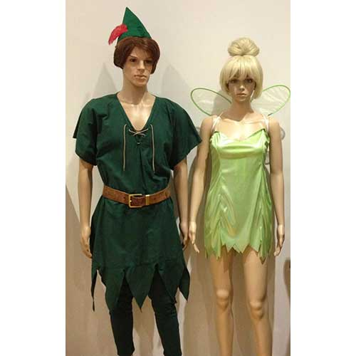 Peter Pan And Tinker Bell For Hire Costume World
