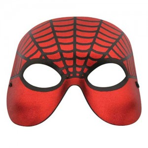 Spider Man Red with Black Web