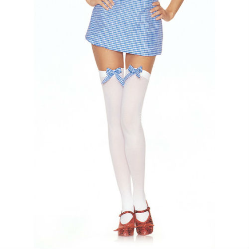 Dorothy Gingham Thigh High Stockings