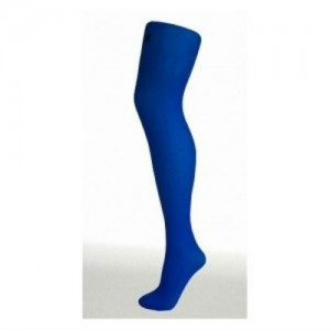 Electric blue tights