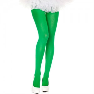 Music legs kelly green