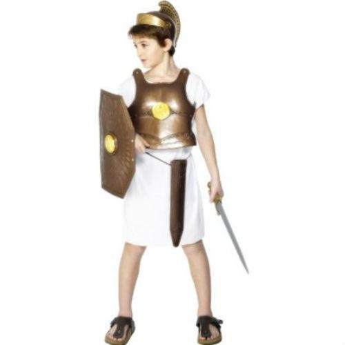 Roman Gladiator Child Armour Chest Plate, Helmet, Sheild ...