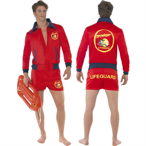 Baywatch Swim Shorts and Jacket
