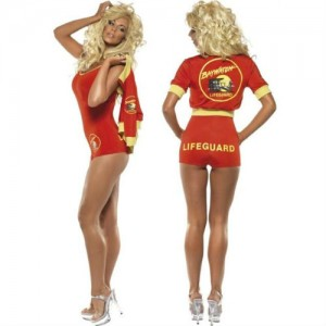Baywatch Swimsuit and Jacket