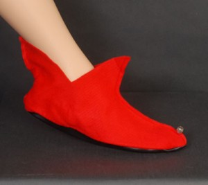 Elf Shoes Red