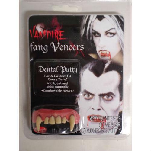 Vampire Werewolf Teeth Fang Veneers with Putty