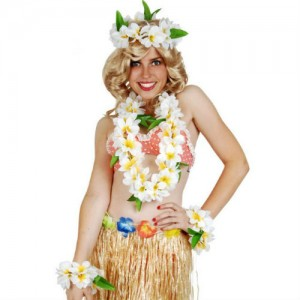 Frangipani Hawaiian Set