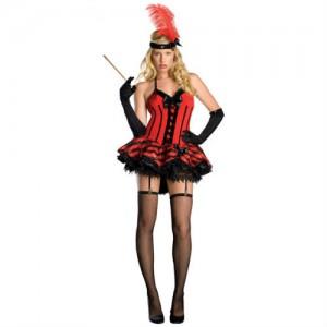 burlesque red black