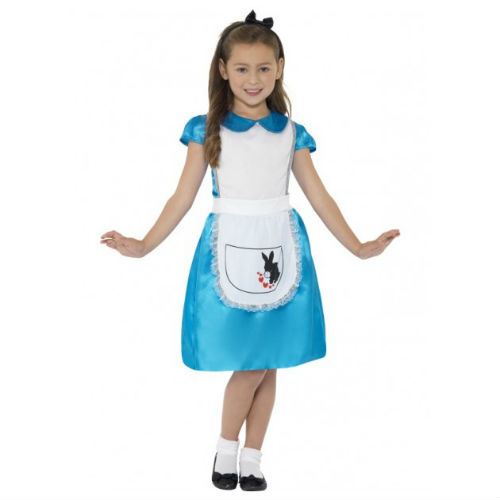 Alice Wonderland Princess Dress and Headband