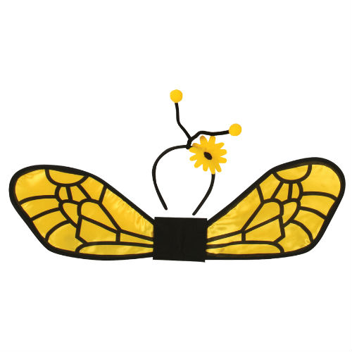 Bee Set  sc 1 st  Costume World & Bee Wings u0026 Headband Set - Costume World