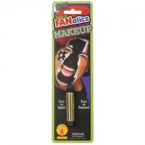 Black face paint crayon
