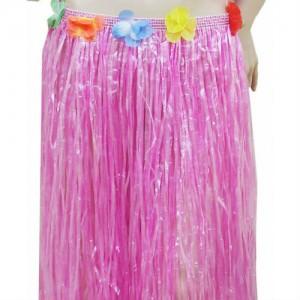 pink hula skirt