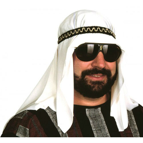 Arab Sheik Headpiece