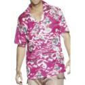 Hawaiian shirt pink