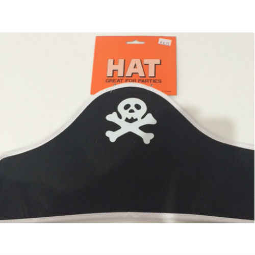soft pirate hat