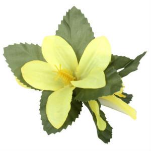 Yellow flowerclip