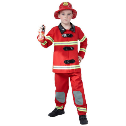 Fireman Suit & Hat - Costume World