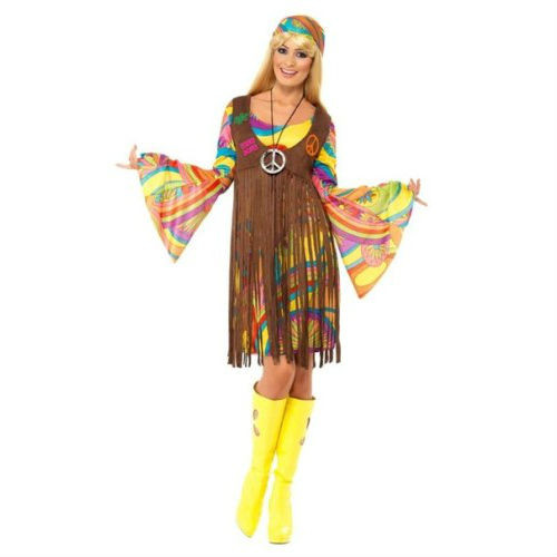 1960's groovy lady dress vest