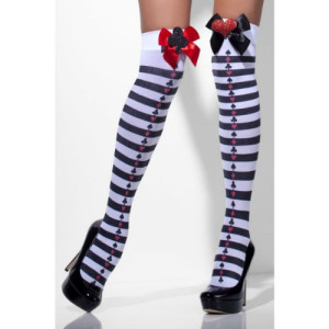 alice deck of cards stockings