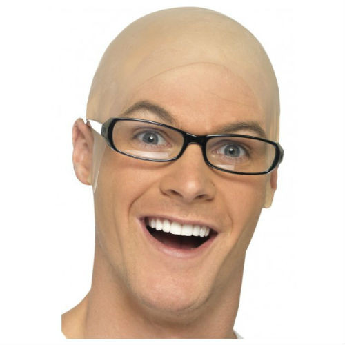 bald head cap light