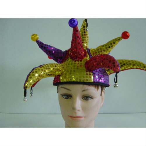 jester hat sequin