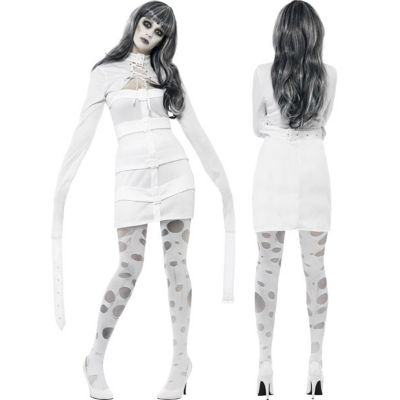 Psychotic Nympho Straight Jacket Dress - Costume World