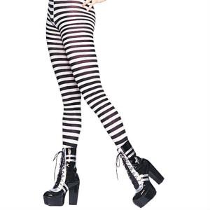 black white tights