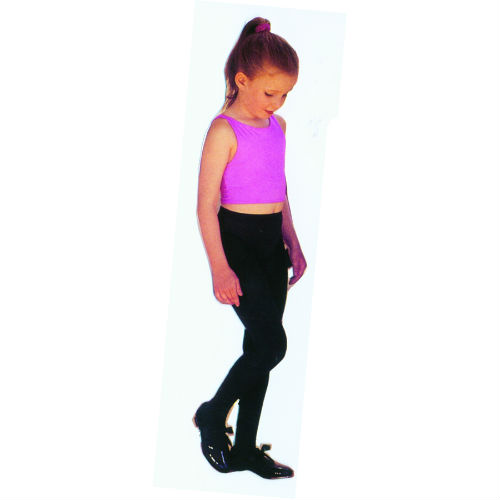childs tights black