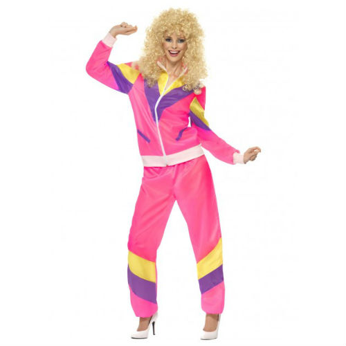 80's tracksuit female