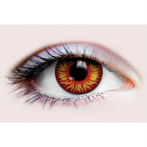 flame contact lens 3 months use