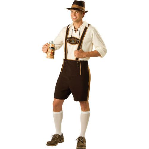 Octoberfest Oktoberfest Bavarian Guy Deluxe Lederhosen